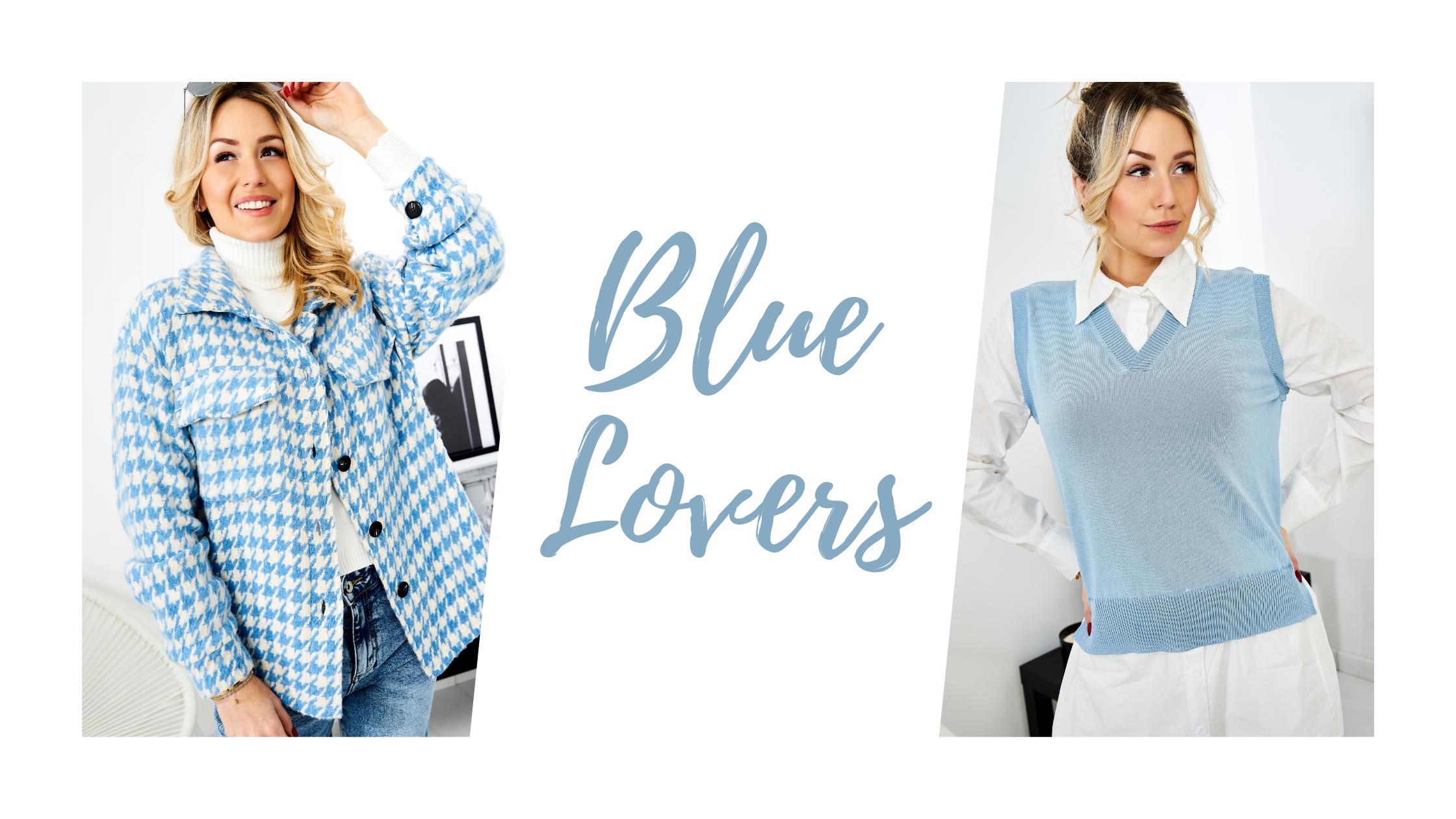 Bleu looks tendances